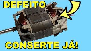 Como Consertar Motor de Aparador de Grama
