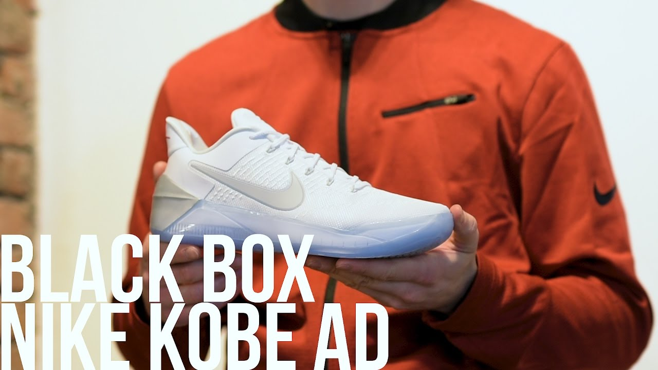 buy popular 1dfd5 05d57 BLACK BOX PRESENTAZIONE NIKE KOBE AD - YouTube