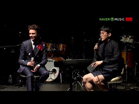 Mika - Showcase Naver Music Live + Interview - Seoul - 21.05.2015