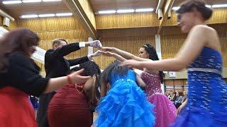 Vuosaaren lukion Vanhojen tanssit 2015 - Virginia reel