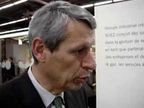 Download Interview de Xavier Votron directeur général de Suez