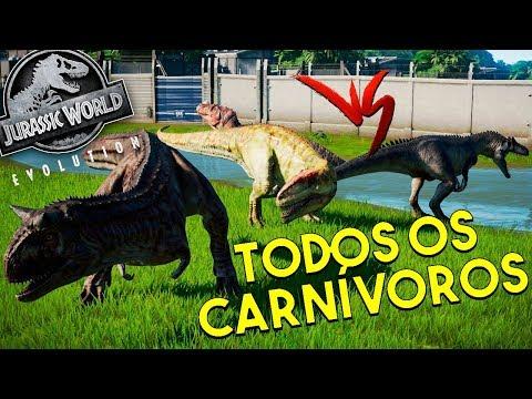 BATTLE ROYALE! TODOS OS CARNÍVOROS VERSUS! | Jurassic World Evolution | B. Jurássica [#28] | (PT/BR)