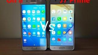 [Hindi] Samsung Galaxy On 8 Vs J7 Prime Comparison