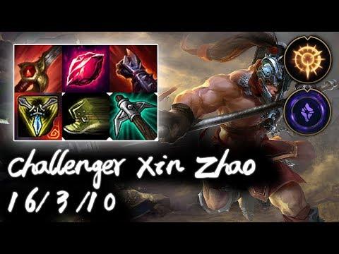 Challenger Xin Zhao Jungle vs Kha'Zix | Rank #10 Challenger | Korea High Elo
