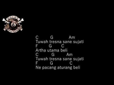 CHORD GUITAR LOLOT - ARTHA UTAMA