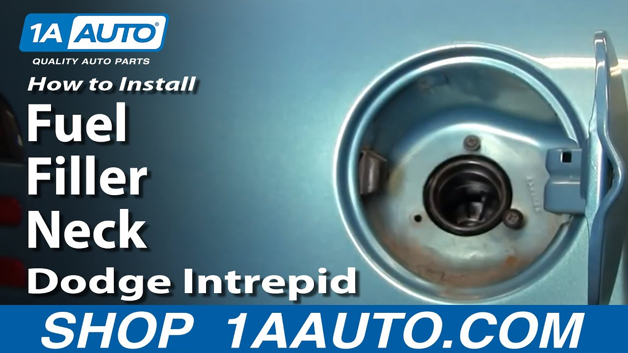 hight resolution of how to install replace fuel filler neck dodge intrepid 93 97 1aauto com youtube