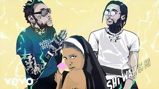 Vybz Kartel, Dj Power, Gold Gad - Make up (Remix) Lyric Video