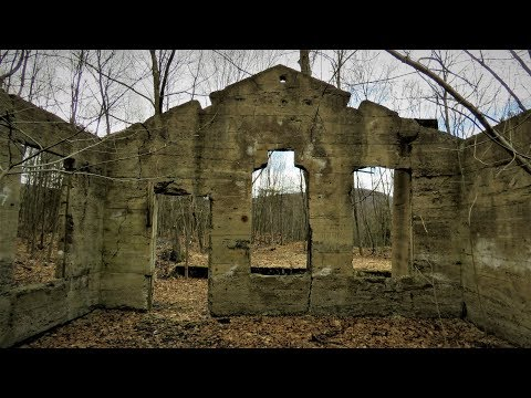 Searching For Abandoned Mines And Ruins (Mocanaqua Loop Trail)