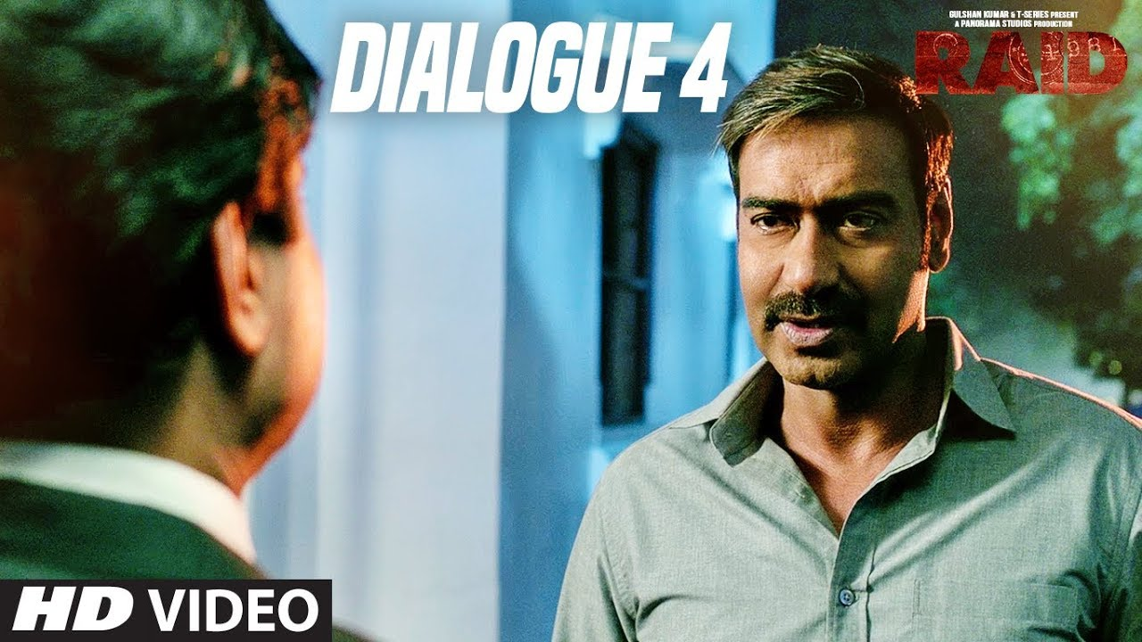 If You Are Following The Rules Be Proud : Raid (Dialogue Promo 4) | Ajay Devgn | Ileana D'Cruz