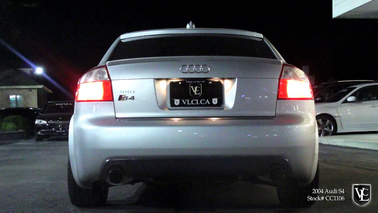 Audi S In Review Village Luxury Cars Toronto YouTube - 2004 audi s4 review