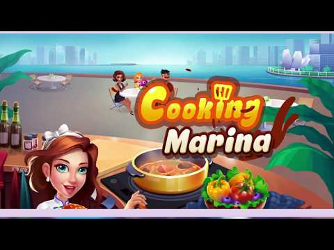 Cooking Marina - fast restaurant cooking games 홍보영상 :: 게볼루션