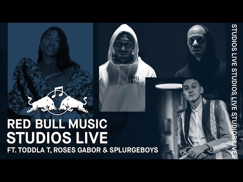 Toddla T, Splurgeboys and Roses Gabor Against The Clock To Remix A Track LIVE | Studios Live