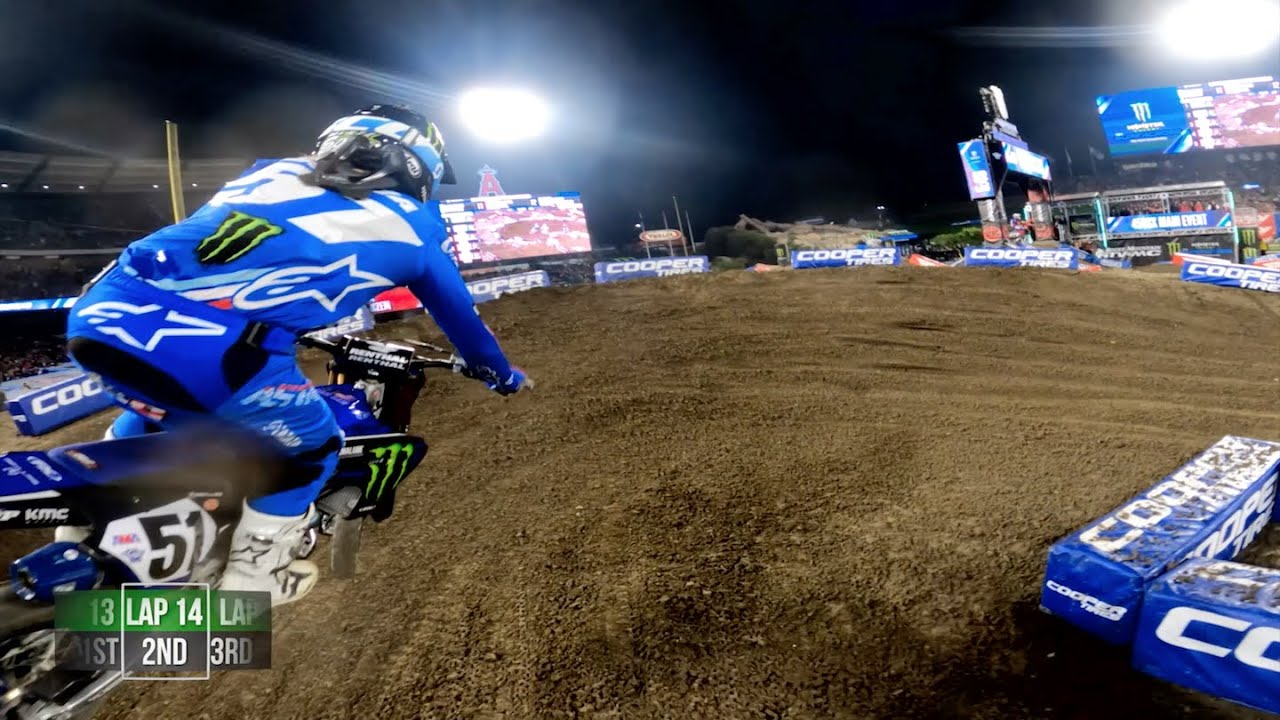 GoPro: Adam Cianciarulo - 2020 Monster Energy Supercross - 450 Main Event Highlights - Anaheim 1 - Motor Informed