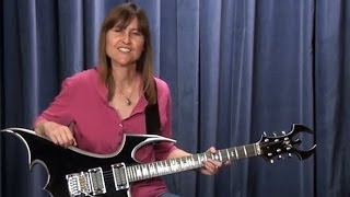 Melodic Principles for Rock Guitar by Sarah Spisak
