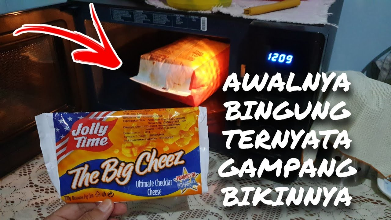Nayla 147 Popcorn Jolly Time Rasa Keju Menggunakan Microwave Khusus Pemula Dan Anti Gagal Youtube