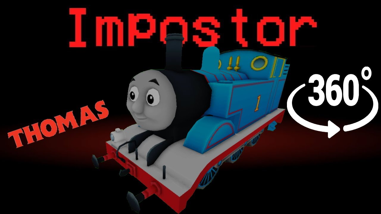 If THOMAS was the Impostor 🚀 Among Us Minecraft 360°