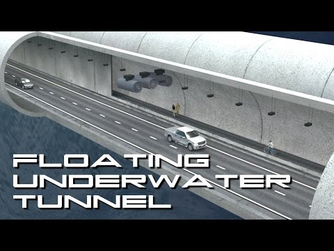 Norwegian Floating Underwater Tunnel   Behold The Future