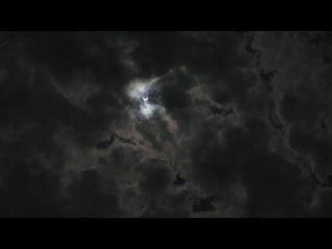 Tanzanians marvel at solar eclipse