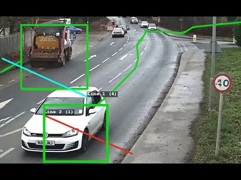 Traffic / cars counting via CCTV software