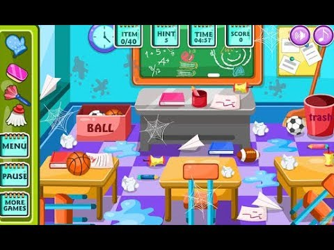 Classroom Clean Up At School -Cartoon for children -Best ...