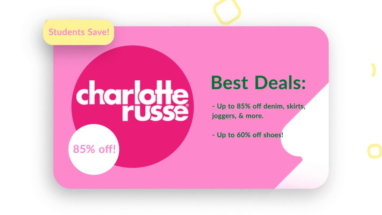 graphic about Charlotte Russe Printable Coupons named Charlotte russe no cost shipping and delivery coupon 2019