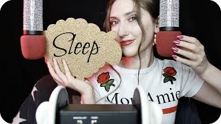 ASMR Deep Sleep Sounds ~ Bassy, Crisp, Scratchy, Intense & Soft w/ Ear to Ear Whispering