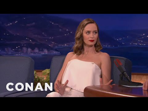 Emily Blunt Seeks To Understand Testicle Pain