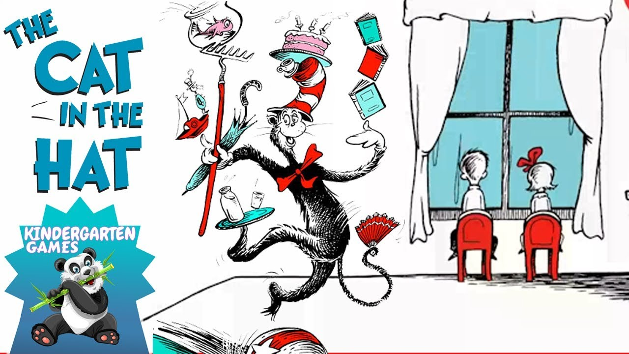 CAT In The HAT Fish Bowl Storybook