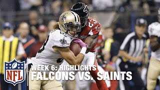 Falcons vs. Saints | Week 6 Highlights | NFL