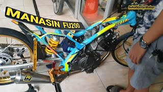 Edisi manasin motor FU 200CC the azzura racinghell
