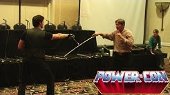 Power-Con 2012: Anthony De Longis Weapons Demonstration