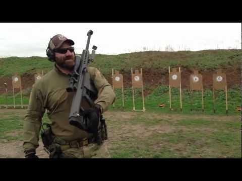 Magpul Dynamics: Steve Fisher shoots modified VTAC 1-5 Drill w/ Barrett M107 .50cal