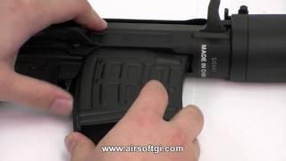 Airsoft GI - A&K SVD Dragunov Spring Action Sniper Rifle