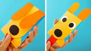 как сделать из картона и бумаги видео игрушки гадалка