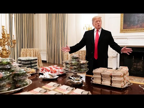 McCabe - This Is How Much Trump Spent on All That Fast Food