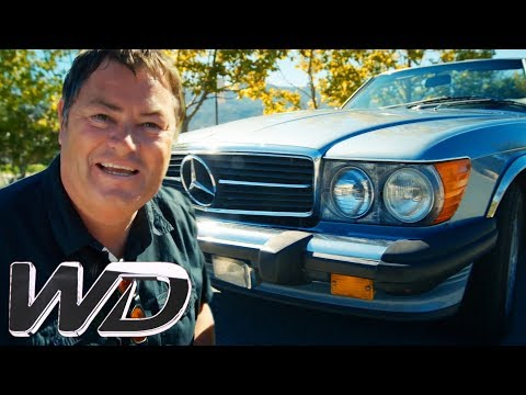 Mike Buys A 1987 Mercedes 560SL For Edd To Work His Magic On!  Wheeler Dealers