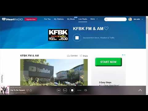 Cindy Rider discussing comfort care on KFBK 4/17/18