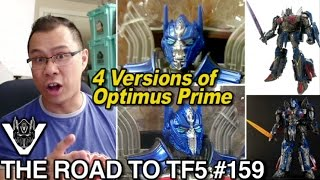 Voyager Optimus Prime has FOUR versions - [THE ROAD TO TF5 #159]