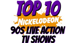 Top10 nickelodeon 90s live action tv shows