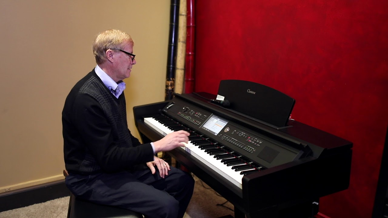 Yamaha CVP-709 Clavinova Demo & Review by Piano Gallery of ...