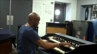 Michael Bereal of West Angeles Church playing their Hammond A-101 Organ