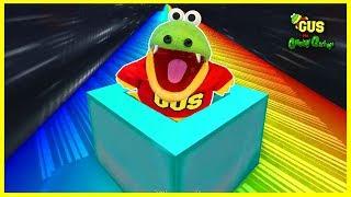 Let's Play ROBLOX Slide Down Stuff on Rainbow Fidget Spinner