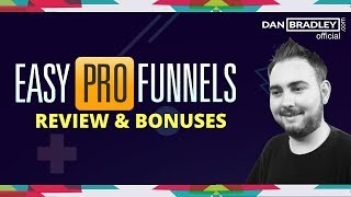 Easy Pro Funnels Review - Demo Walk through Easy Pro Funnels
