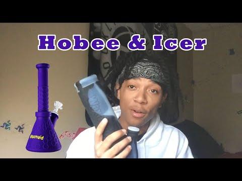 Smoke Sesh Waxmaid Icer & Waxmaid Hobee Water Pipe