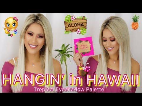 TROPICAL SPRING TIME EYESHADOW LOOK | BH COSMETICS HANGIN IN HAWAII PALETTE | MAKEUP TUTORIAL thumbnail