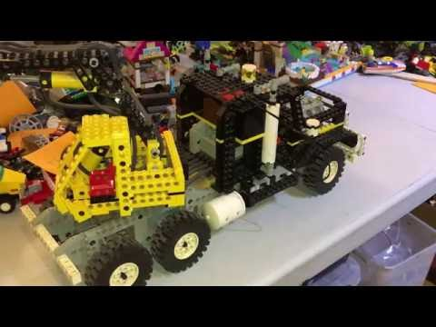 Vintage Lego review Technic set 8868 Air Tech Claw Rig.