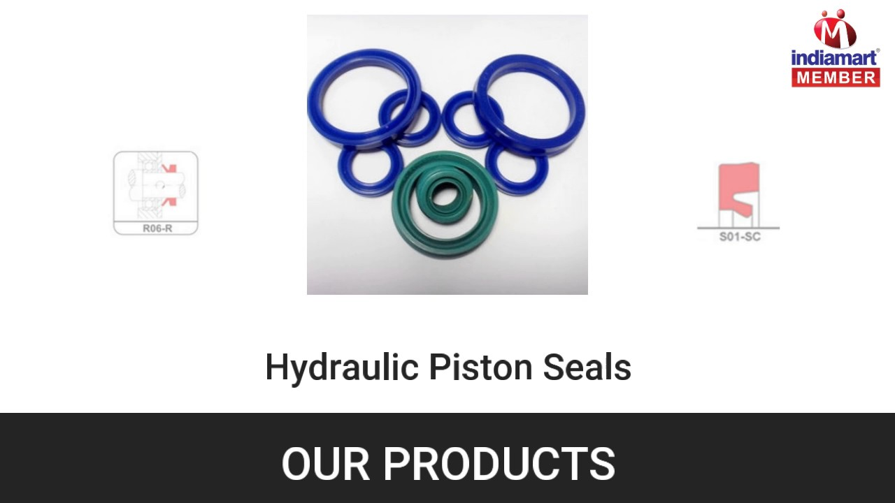 Piston seals and Guide Rings By Seal- Wings Sealing Technology Pvt  Ltd ,  Pune