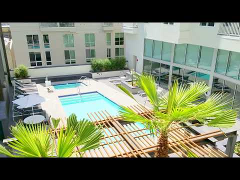 G12 Apartments Video Tour 1200 S Grand Ave Downtown LA 2-Bedroom 349
