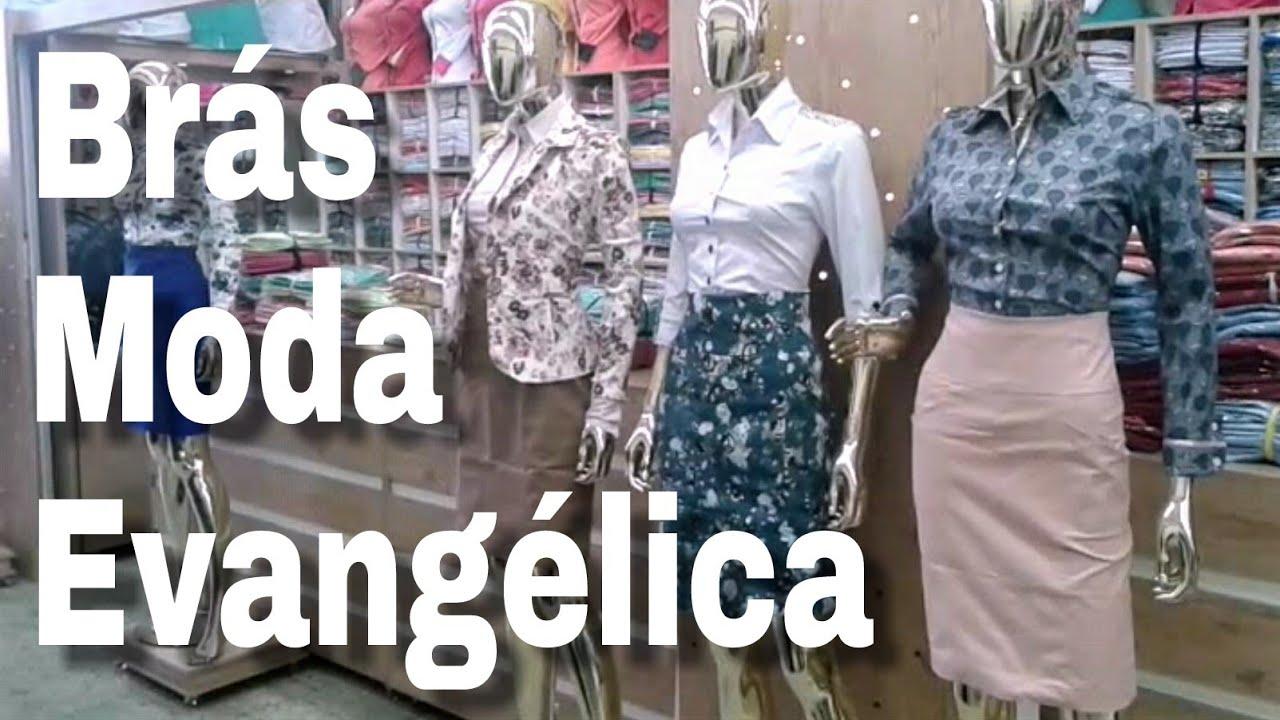 Brás Moda Evangélica Menor Preço Dicas para Sacoleiras - YouTube f612d3a2c0b6e
