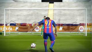 HOW TO SHOOT PENALTY IN FIFA ONLINE 3 - 100% GOAL !!